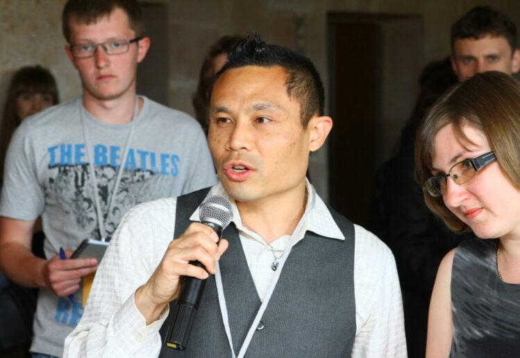 rik speaking at workshop in Ukraine 2013